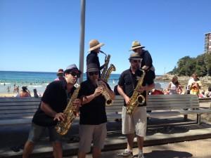 Roving Sax band
